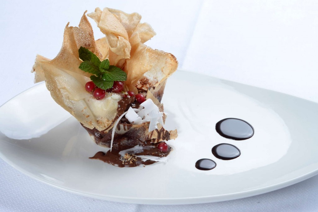 Heavenly desserts served at San Diego Suites
