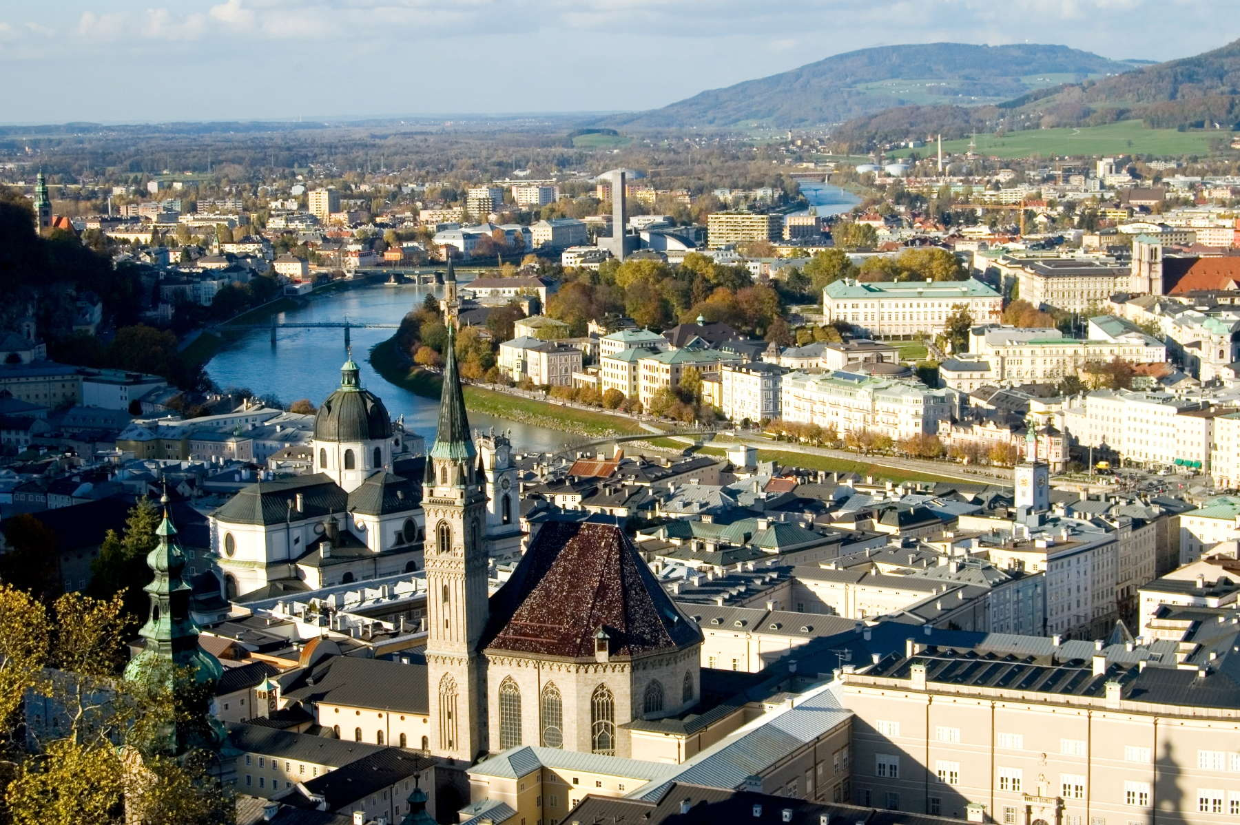 Salzburg is an enchanting city