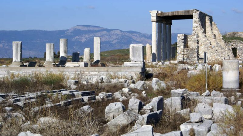Ancient ruins in Miletus
