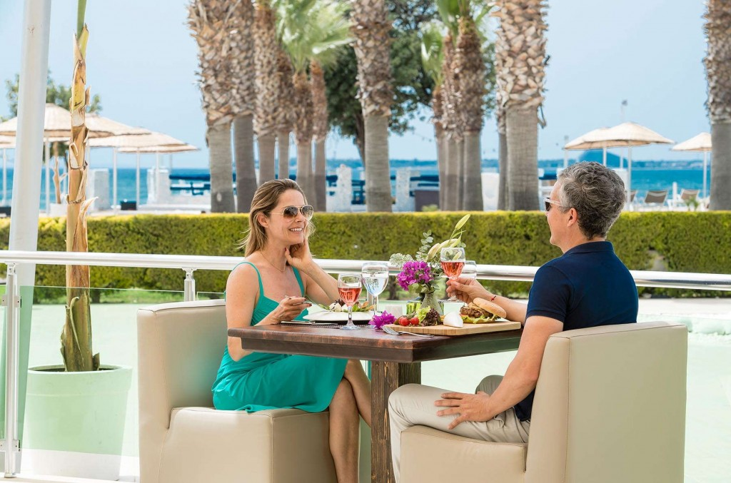 Enjoyable meals in one of the resort's restaurants