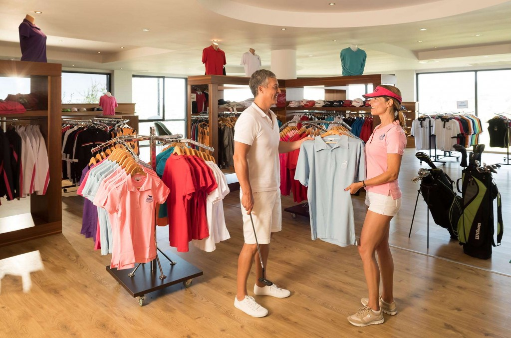 Guests can buy a large variety of golfing equipment and clothing at Kusadasi Golf & Spa