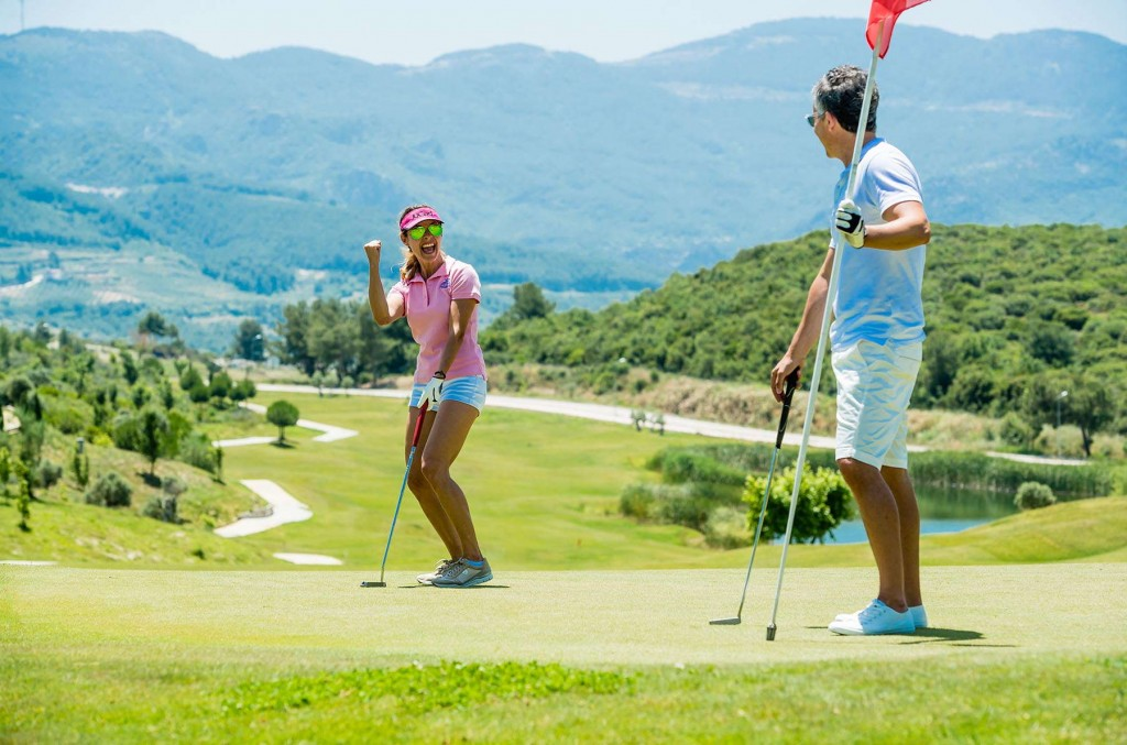 Take advantage of the par 72 championship course at Kusadasi Golf & Spa