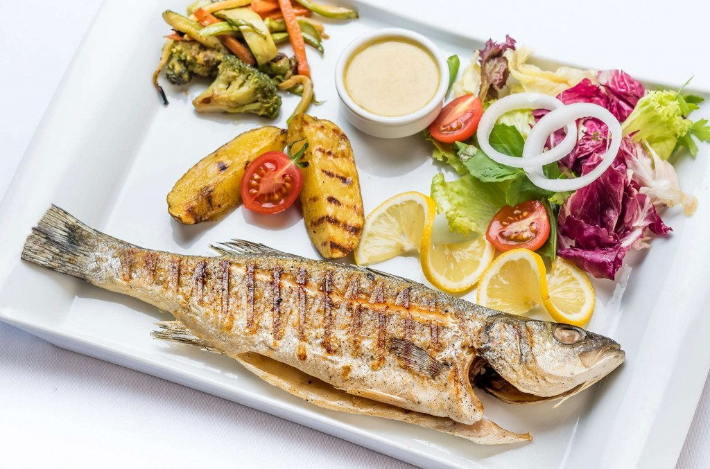Fresh fish dishes at Kusadasi Golf & Spa