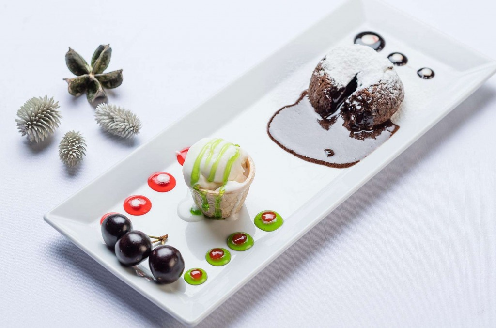 Heavenly desserts at Kusadasi Golf & Spa resort