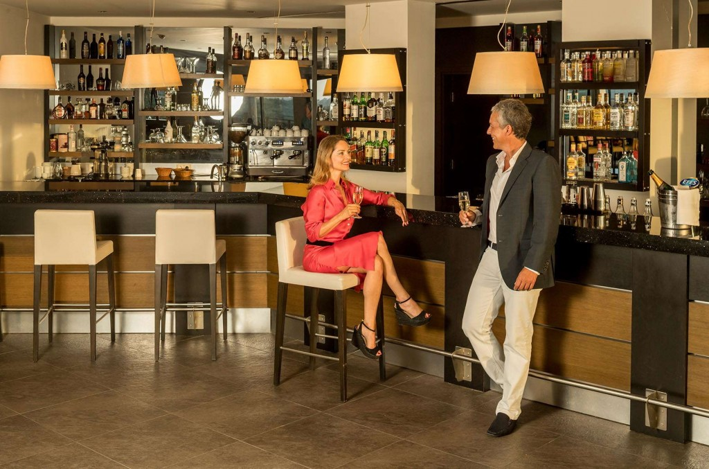 Enjoy a drink at the Kusadasi Golf & Spa bar in the golf course