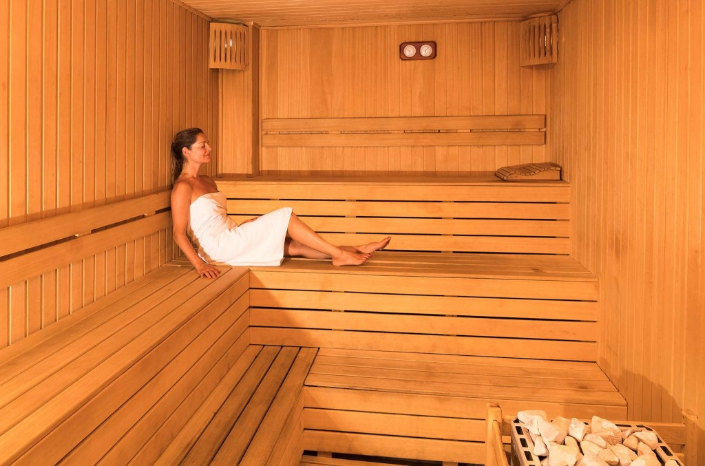 Enjoy and relax in the sauna at CLC Kusadasi Golf & Spa