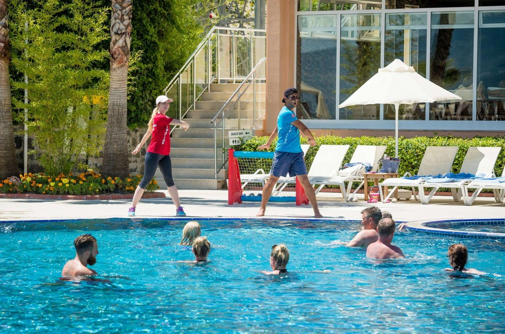 Fun activities by the animation team at CLC Kusadasi Golf & Spa