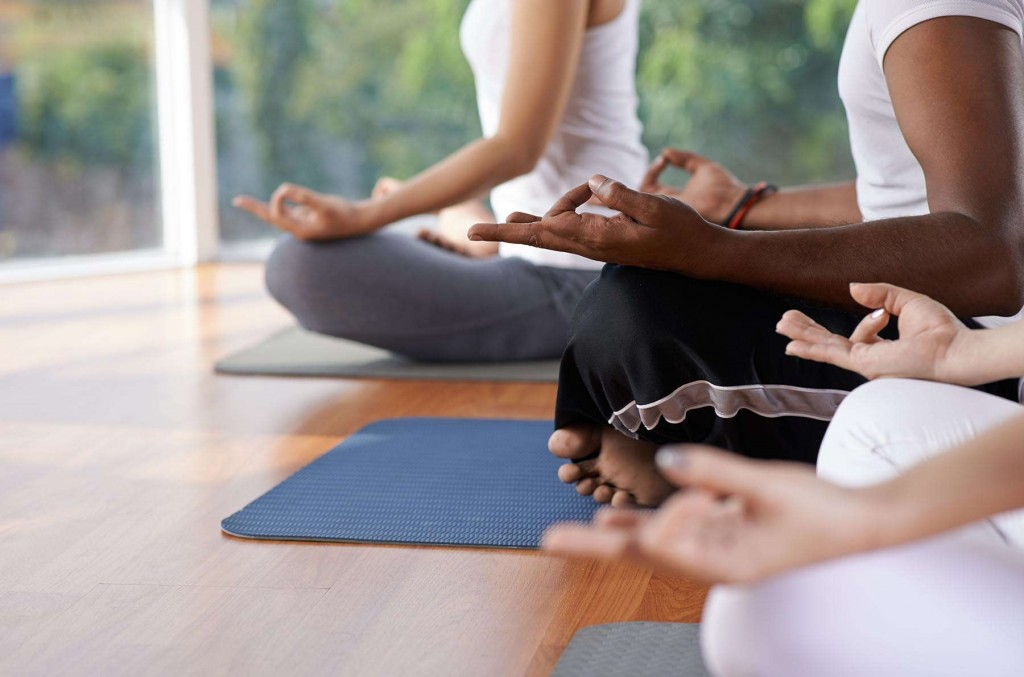 Yoga and meditation at CLC resorts