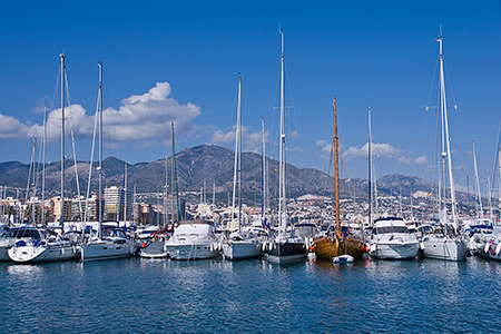 The docks in Fuengirola