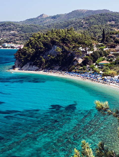 Beautiful beaches in Samos
