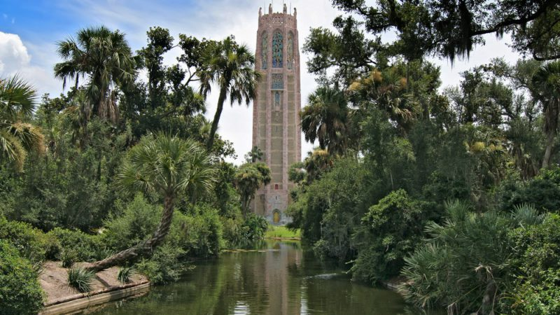 The beautiful Bok Tower Gardens