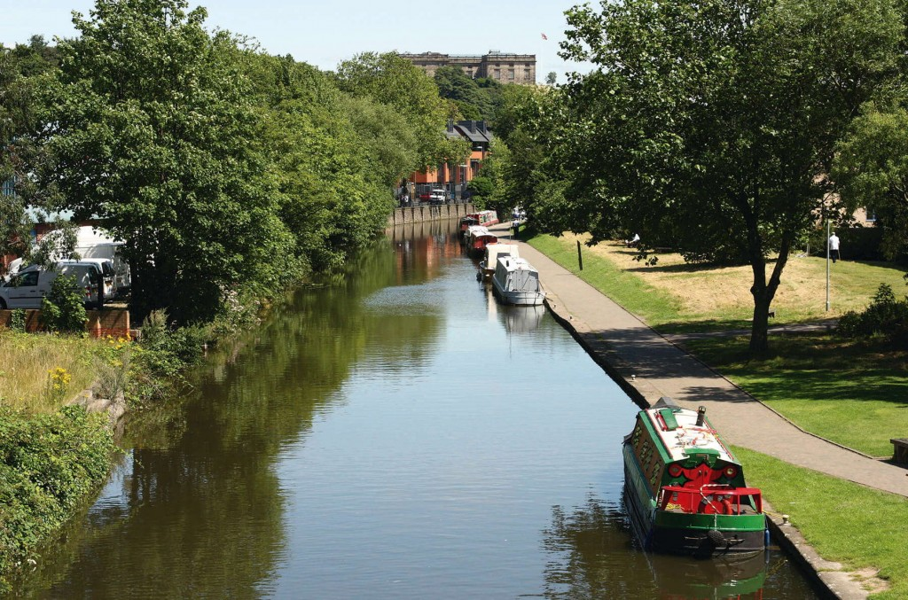 The enchanting canals of England