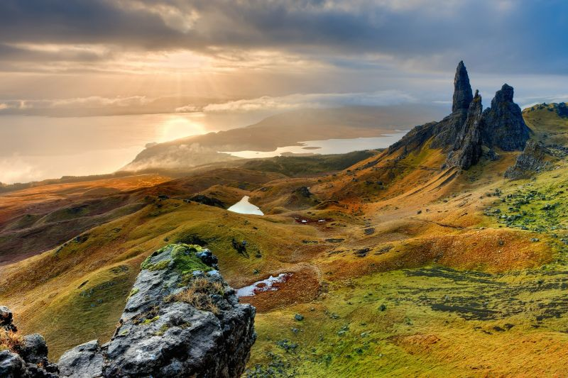 Scotland Lanscape Scenery