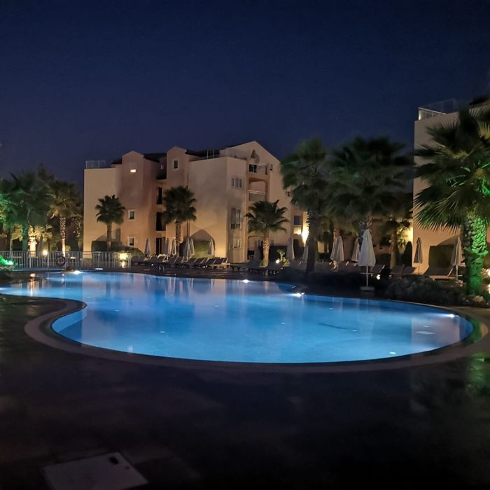 Kusadasi Golf & Spa in Turkey by night