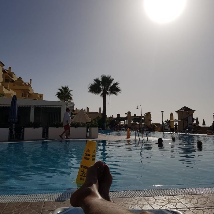 Pool at CLC Paradise, Tenerife