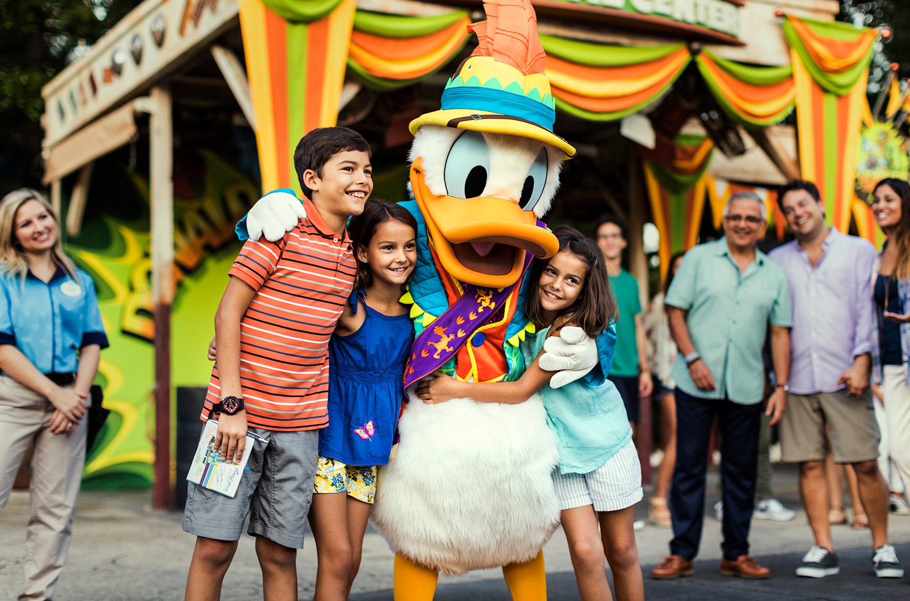 Donald Meet and Greet ©Disney